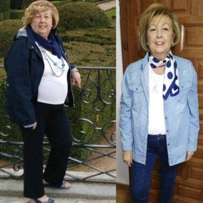 Mary - 23 kg menos