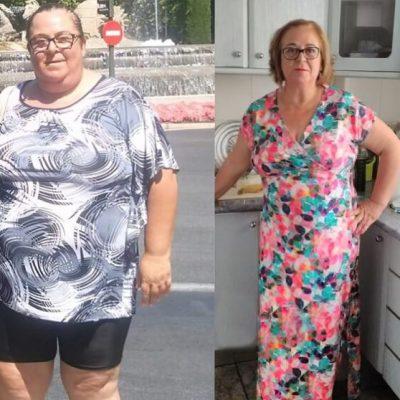 Maribel - 40 kg menos